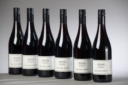 6 bouteilles RÉGNIÉ