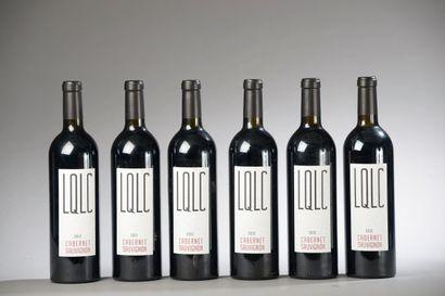 6 bouteilles VAUCLUSE