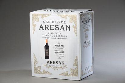 6 bouteilles CASTILLA Castillo de Arean ...