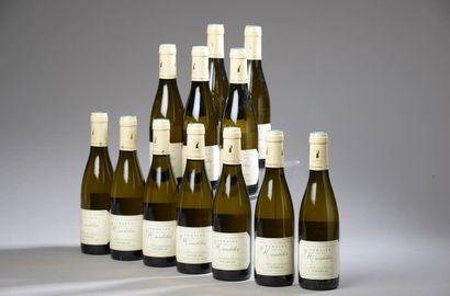 12 demi-bouteilles CHABLIS La Mandelière...