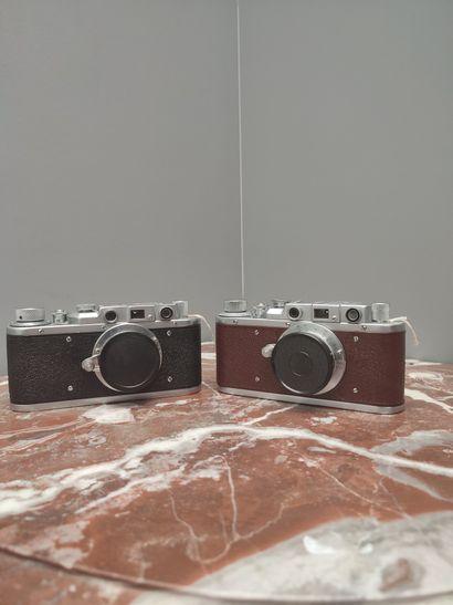Ensemble de deux appareils Zorki : Zorki...