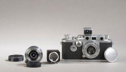 Appareil photographique Leitz Leica IIIF...