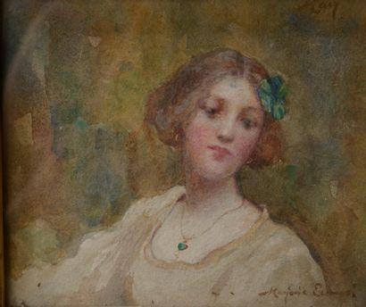 Mrs Scott ELLIOT née Marjorie EWANS (XIXe-XXe...