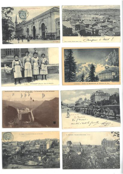 ENVIRON 224 CARTES POSTALES DES REGIONS FRANCAISES...