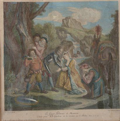 Gravé par Louis SURUGUE (1686-1762), d'après...