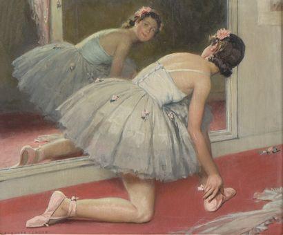 Auguste LEROUX (1871 - 1954). La danseuse...