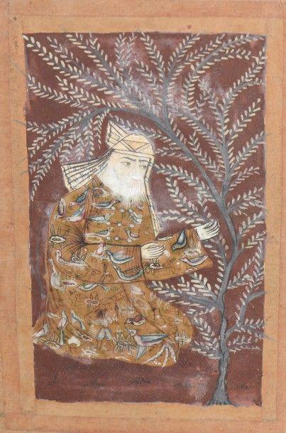 Miniature figurant un homme à la barbe blanche...
