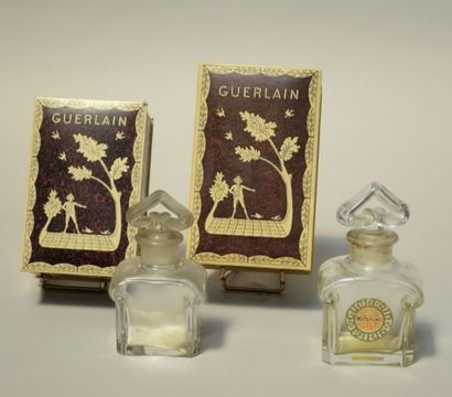 Guerlain - Mitsouko 1919 - Deux flacons en...