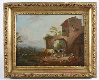 École française vers 1800, suiveur de Jean...