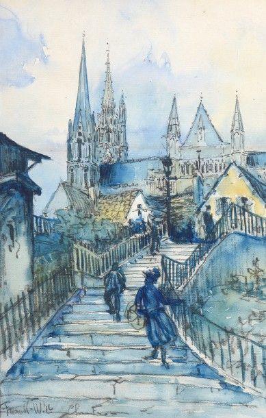 FRANK-WILL (1900-1951). La Cathédrale de...