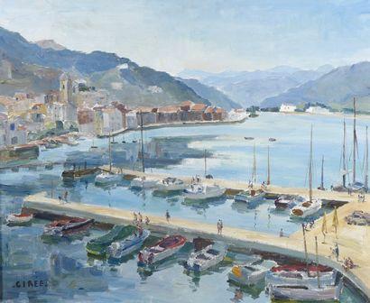 Marie-Louise CIRƒE (1916-2015). Puerto de...