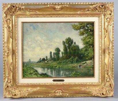 *Léon JOUBERT (1876-1920) / Paysage à la...