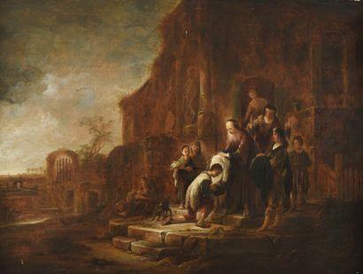 JACOB WILLEMSZ de WET (1610-1674)L'enfant...