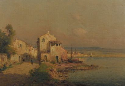 MORY (XIXème siècle), Village de la côte...