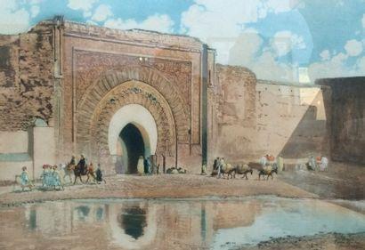 ROMBERG Maurice, d'après. La Grande Porte...