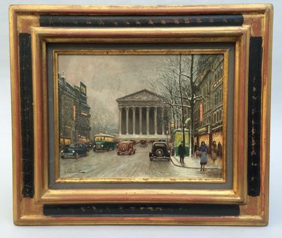 L. NOIREAUT (1890-1960), Place de la Madeleine,...
