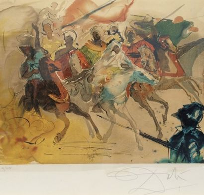 Salvador DALI (1904-1989), Fantasia, lithographie...