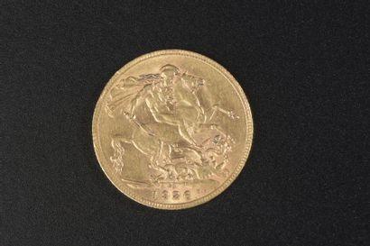 Un souverain en or à l'effigie de George...