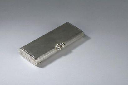 Élégante boîte de beauté de forme rectangulaire...