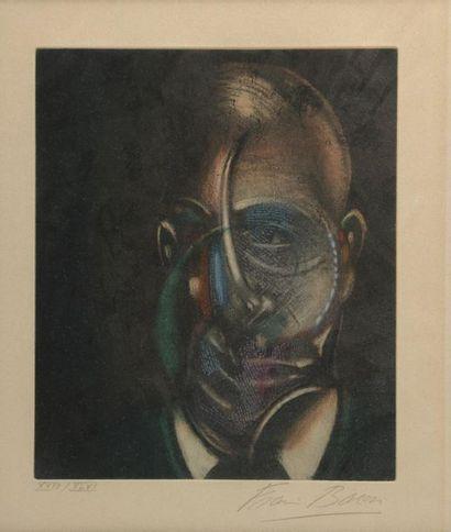 Francis BACON (1909-1992). Portrait de Michel...