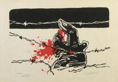 Miguel ANIBAL (né en 1935). Chili, la colombe...