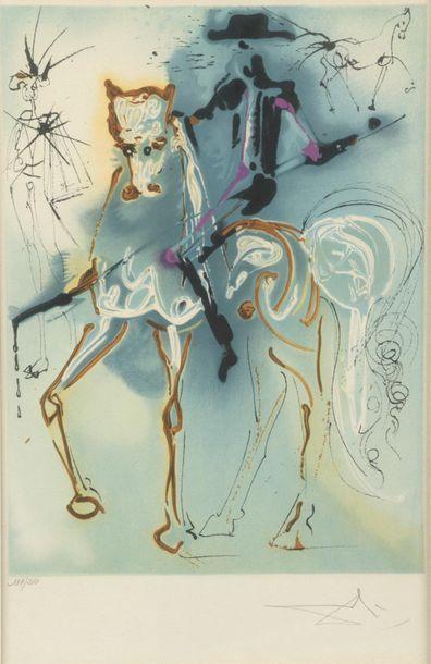 Salvador DALI (1904-1989). Picador. Lithographie...