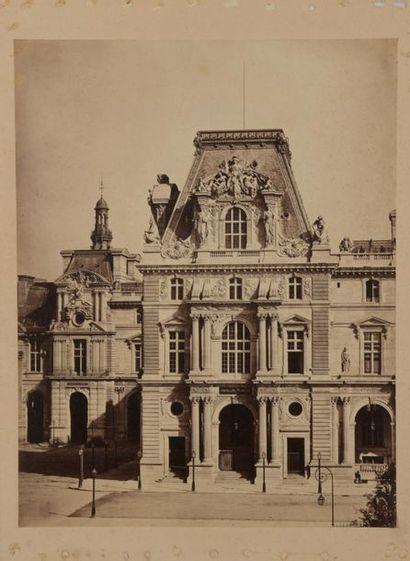 Gustave LE GRAY (1820-1884). Palais du Louvre,...