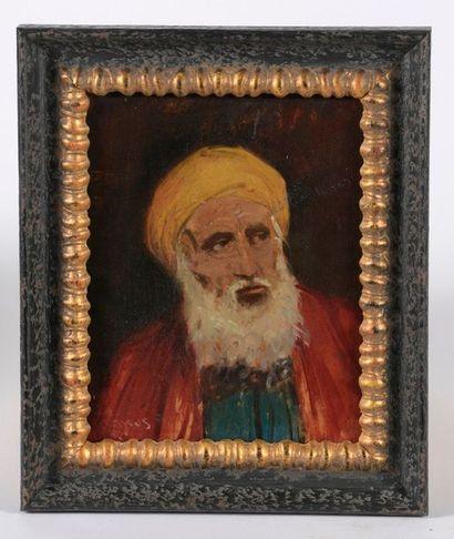 Alfred LAKOS (1870-1961). Portrait d'homme...