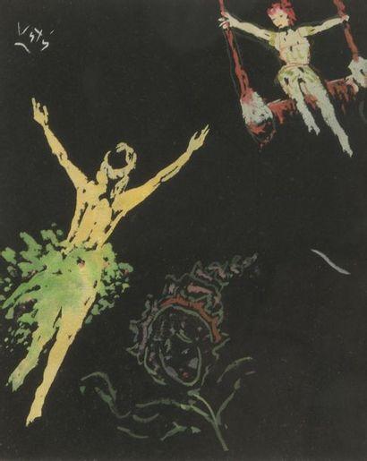 Marcel VERTÈS (1895-1961). Les acrobates....