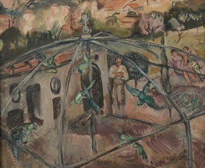 Émile-Othon FRIESZ (1879-1949). La volière....