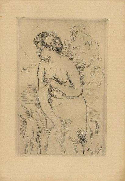 Pierre-Auguste RENOIR (1841-1919) Baigneuse...