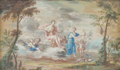 École FRANÇAISE du début du XVIIIe siècle