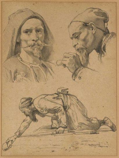 Attribué à Isidore Alexandre Augustin PILS (Paris 1813-Douarnenez 1875)