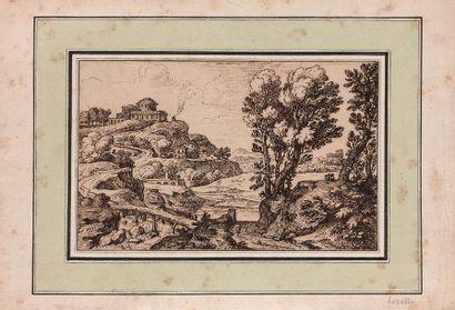 Entourage de Gabriel PERELLE (Vernon/Seine 1603-Paris 1677)