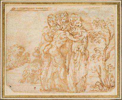 Ecole italienne du XVIe siècle, entourage de Giovanni Battista NALDINI (Fiesole 1537-1591)