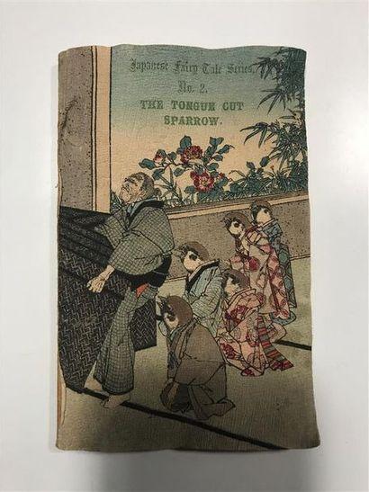 Petit livre illustré japonais titré