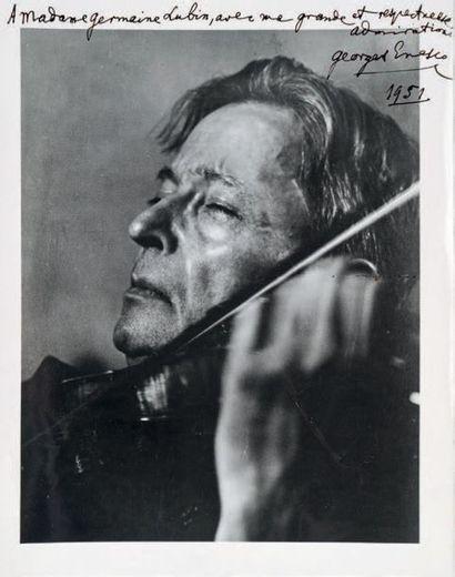 ENESCO (Georges), compositeur (1881-1955)