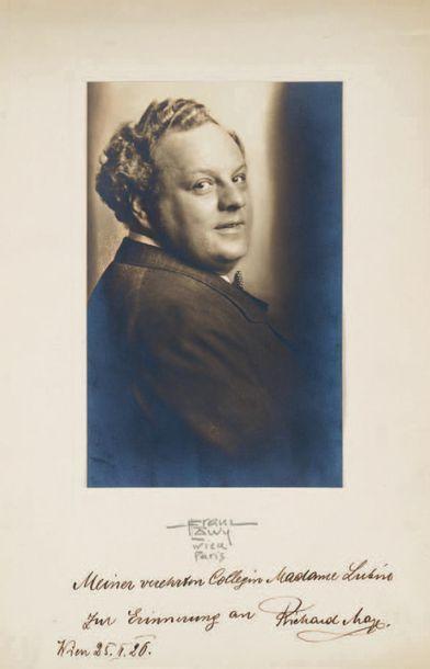 MAYR (Richard), baryton-basse autrichien (1877-1935)