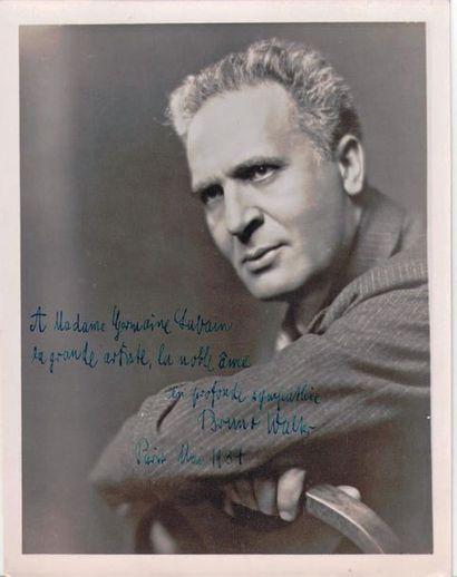 WALTER (Bruno), chef d'orchestre, pianiste et compositeur allemand (1876-1911)