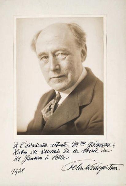 WEINGARTNER (Félix), chef d'orchestre et compositeur (1863-1942)