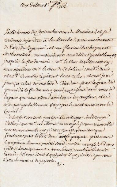 VOLTAIRE (François Marie Arouet dit) (1694-1778)