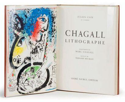[Marc CHAGALL]. Julien CAIN, Fernand MOURLOT...