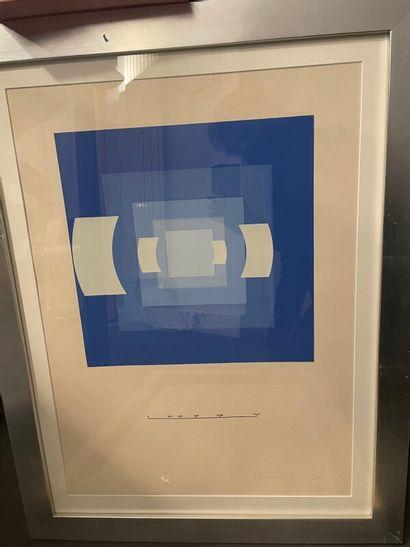 Nausika PASTRA (1932)  Composition abstraite...