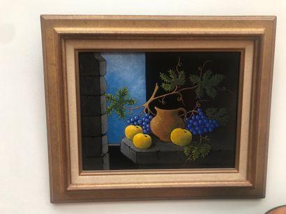 Jacques CORTELLARI (1942 - 2002)  Trois pommes...