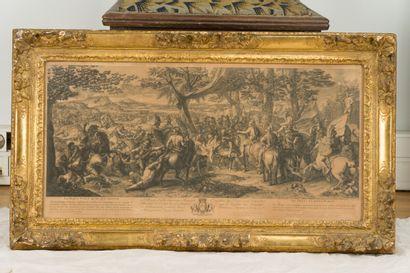 Jean AUDRAN (1667-1756) d'après Charles LE...