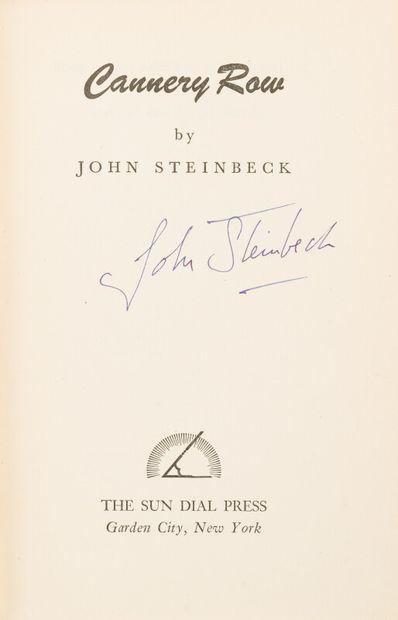 STEINBECK (John) (1902-1968)  Cannery Row....