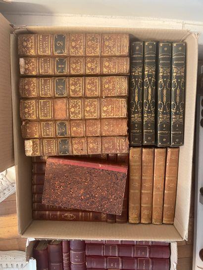 Lot de livres reliés divers