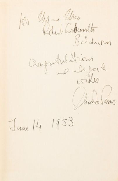 DOS PASSOS (John) (1896-1970)  Chosen Country...