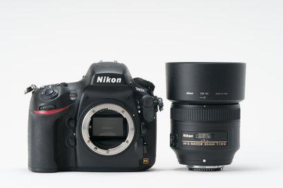 Appareil photographique. Boitier Nikon D800E...