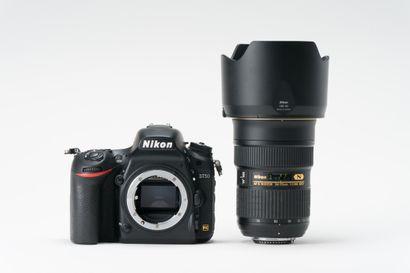 Appareil photographique. Boitier Nikon D750...